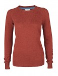 Moray Knitted Jumper Red-orange
