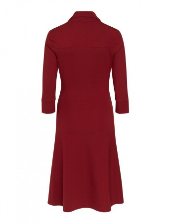 Millet Stretch-Kleid burgund – Bild 3
