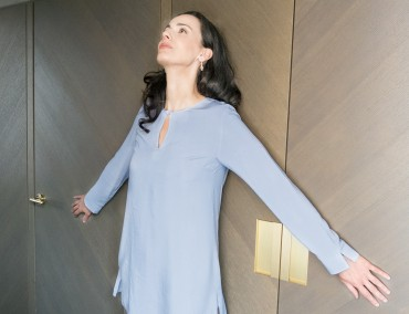 Oriente Tunic Light Blue – Bild 3